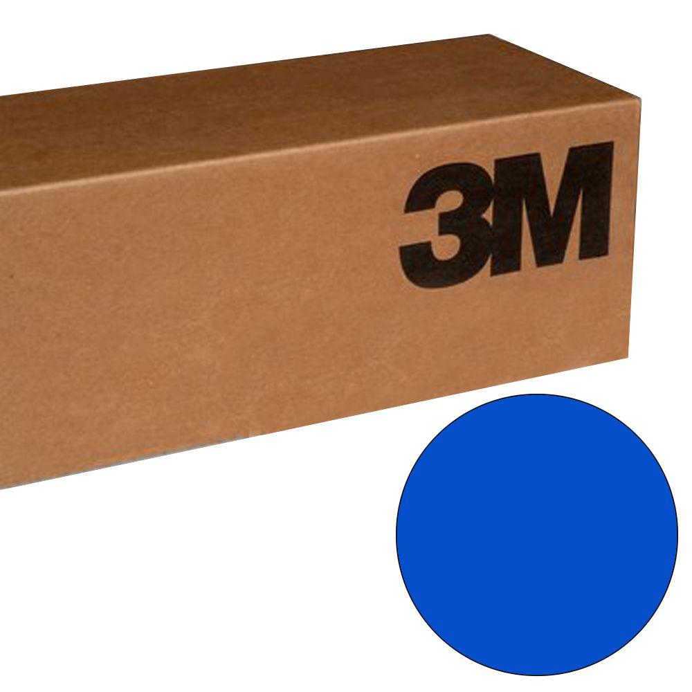 BR6300 Vinil 3M Azul Scotchcal BR6300-67 1,22mtsx50mts