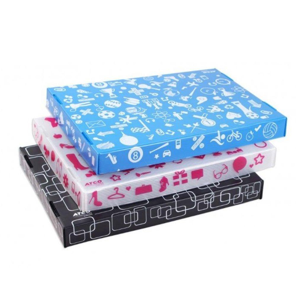 Caixa Organizadora NEW BOX Desmontável Azul