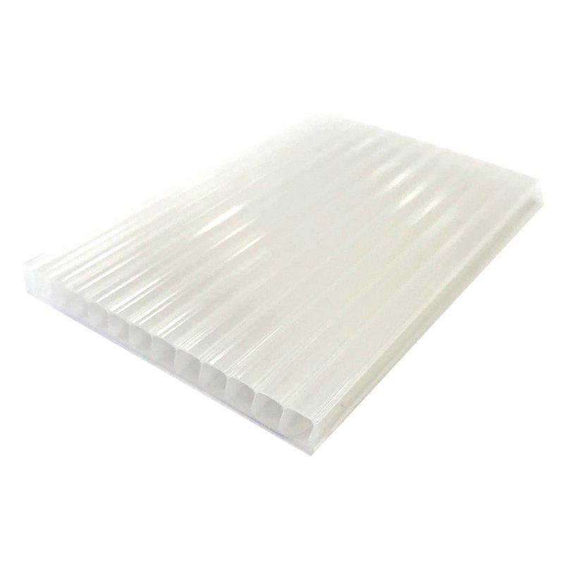 Chapa de Policarbonato Alveolar Branco 4mmx1050mmx6000mm