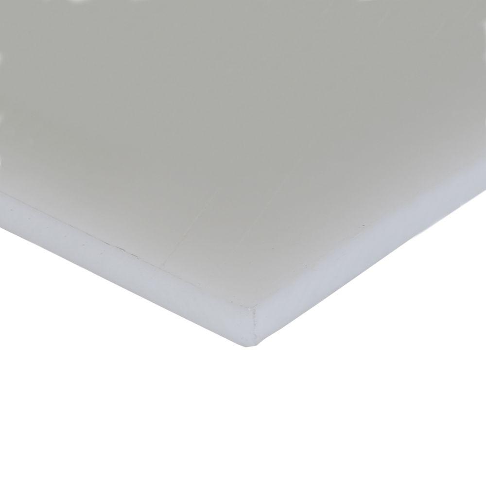 Chapa Polietileno Natural 8MMx500x1000MM
