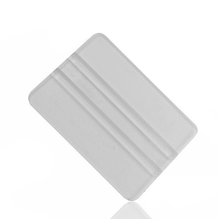 Espátula Retângulo Silicone Transparente p/ Insulfilm