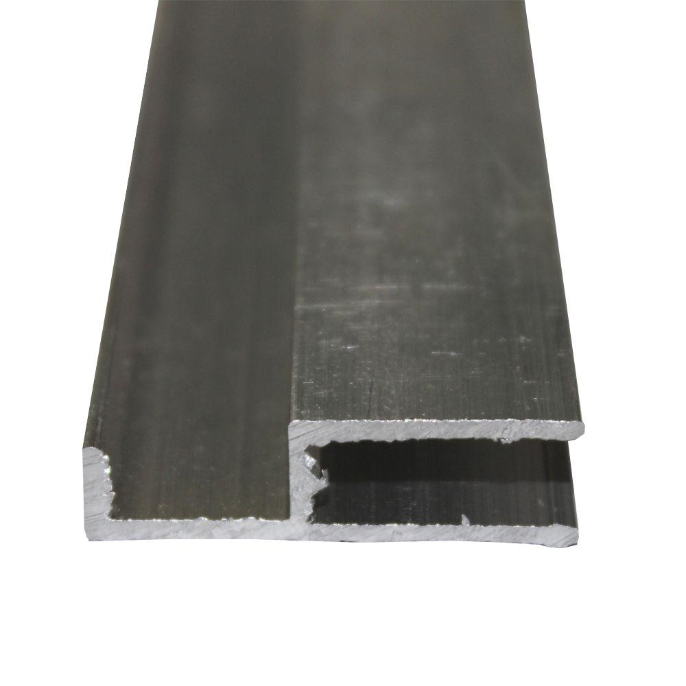 Perfil Arremate Alumínio Natural