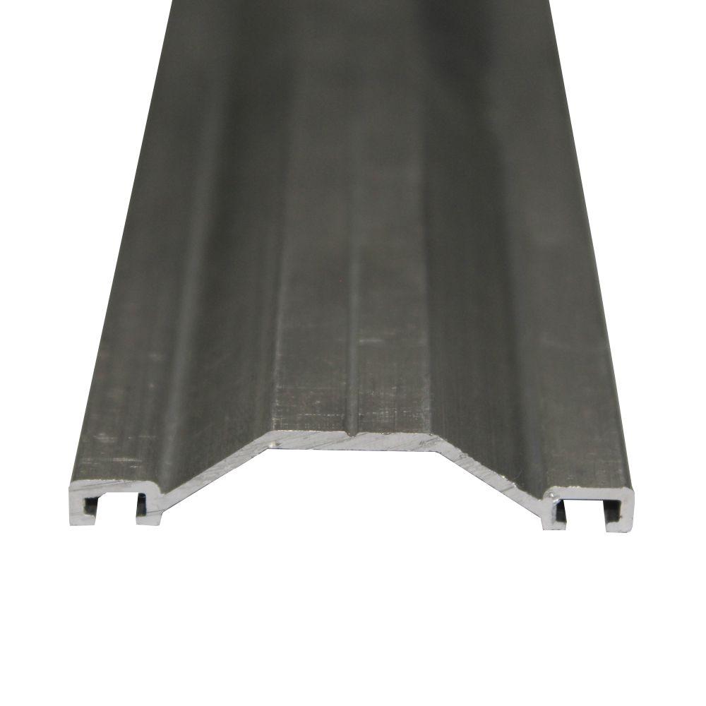 Perfil de Emenda Trapézio Alumínio - 6 Metros
