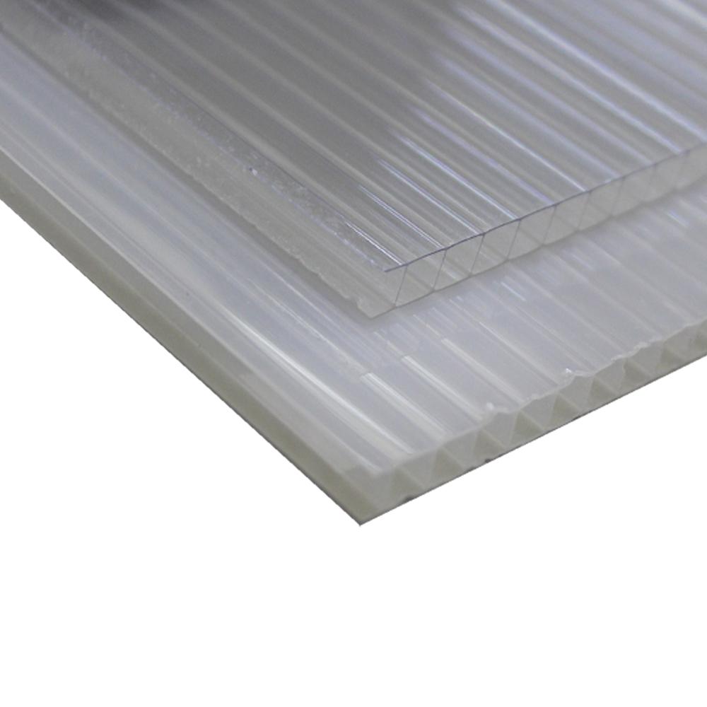 Policarbonato Alveolar Refletiva Cristal 10x1050x6000mm