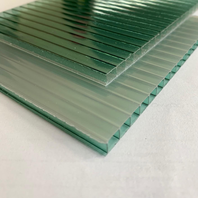 Policarbonato Alveolar Refletiva Verde 10x1050x6000mm