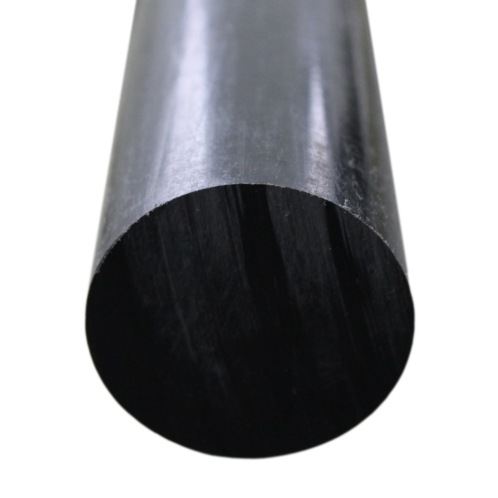 Tarugo Polietileno Preto 45mmx1000mm
