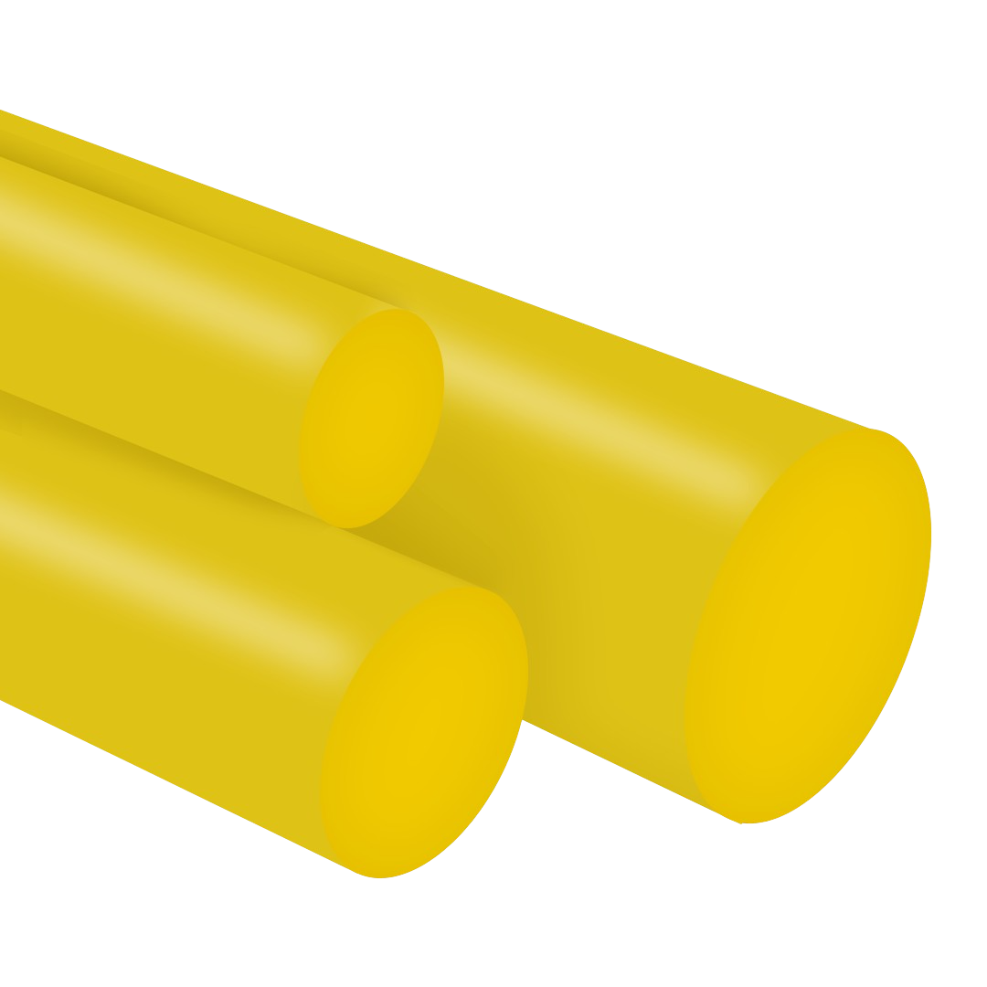 Tarugo Poliuretano Amarelo 70SH A 110X300mm