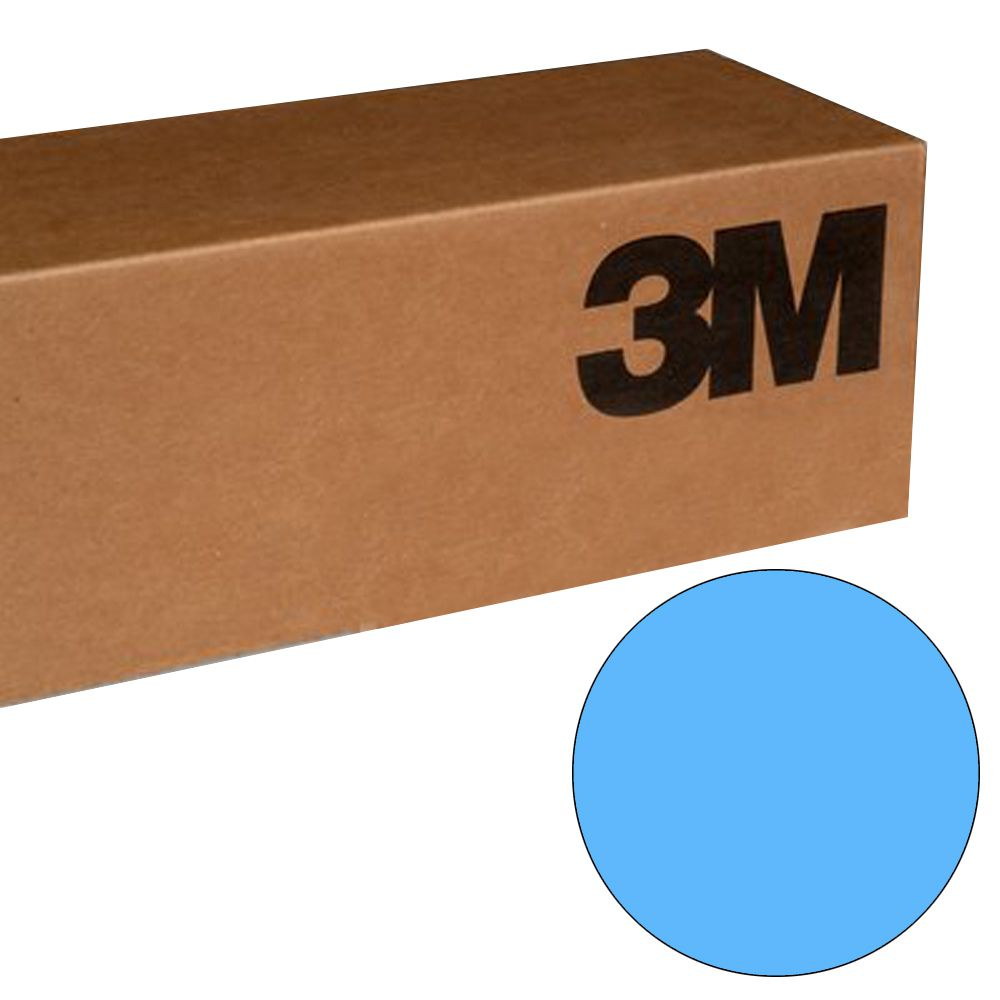 Vinil 3M Azul Claro Scotchcal BR6300-166 1,22mtsx50mts