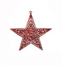 Enfeite para Pendurar Estrela Reluzente  -  1 UN
