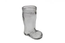 Mini vaso de vidro Bota - 8cm