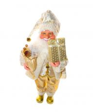Papai Noel Dourado - 47cm Altura