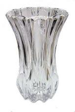 Vaso de vidro - 26,30cm Altura X 17,30cm Boca