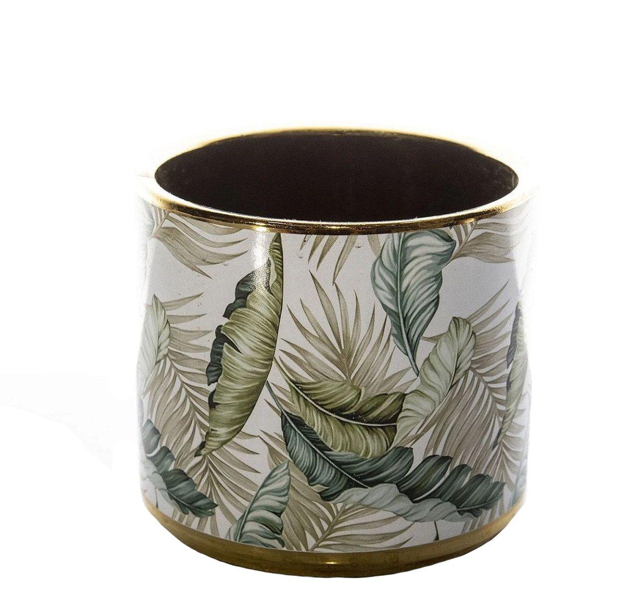 Adorno De Ceramica Vaso Para Ornamento