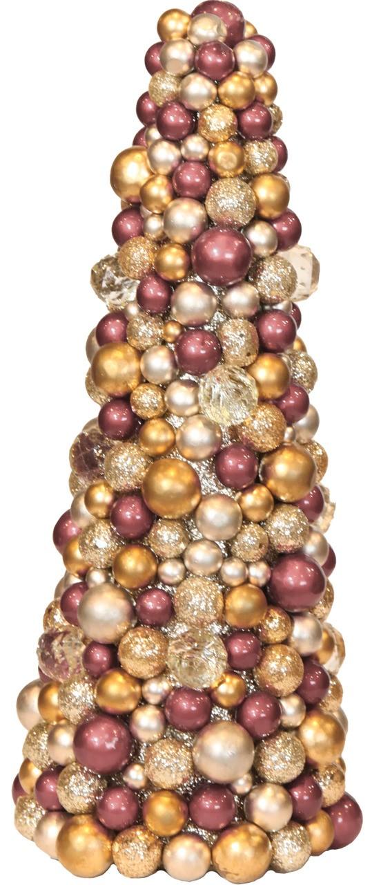 Árvore De Natal De Bolas  34 Cm