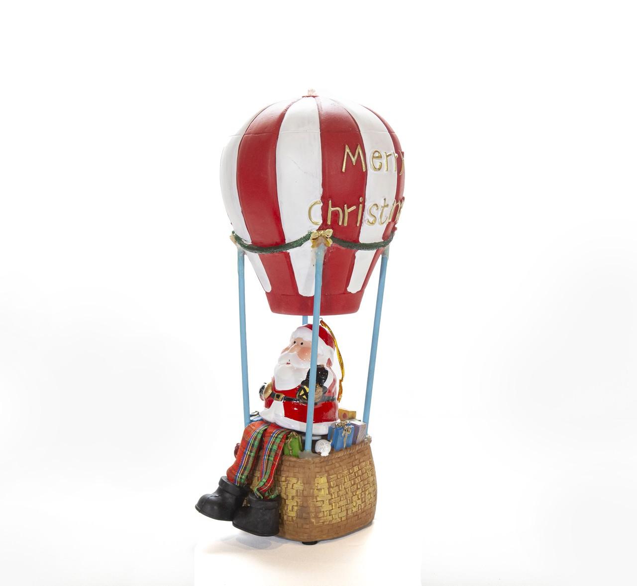 Balão Musical Do Papai Noel - 30Cm Altura