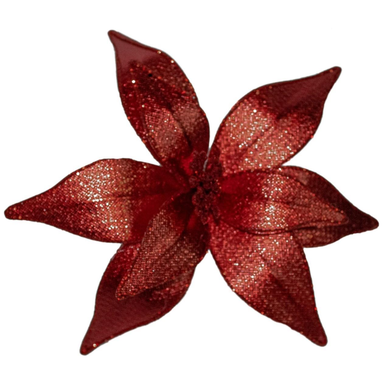 Flor Bico De Papagaio Vermelho - 25 Cm