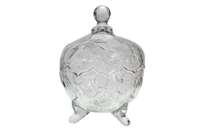 Bomboniere vidro - 20cm