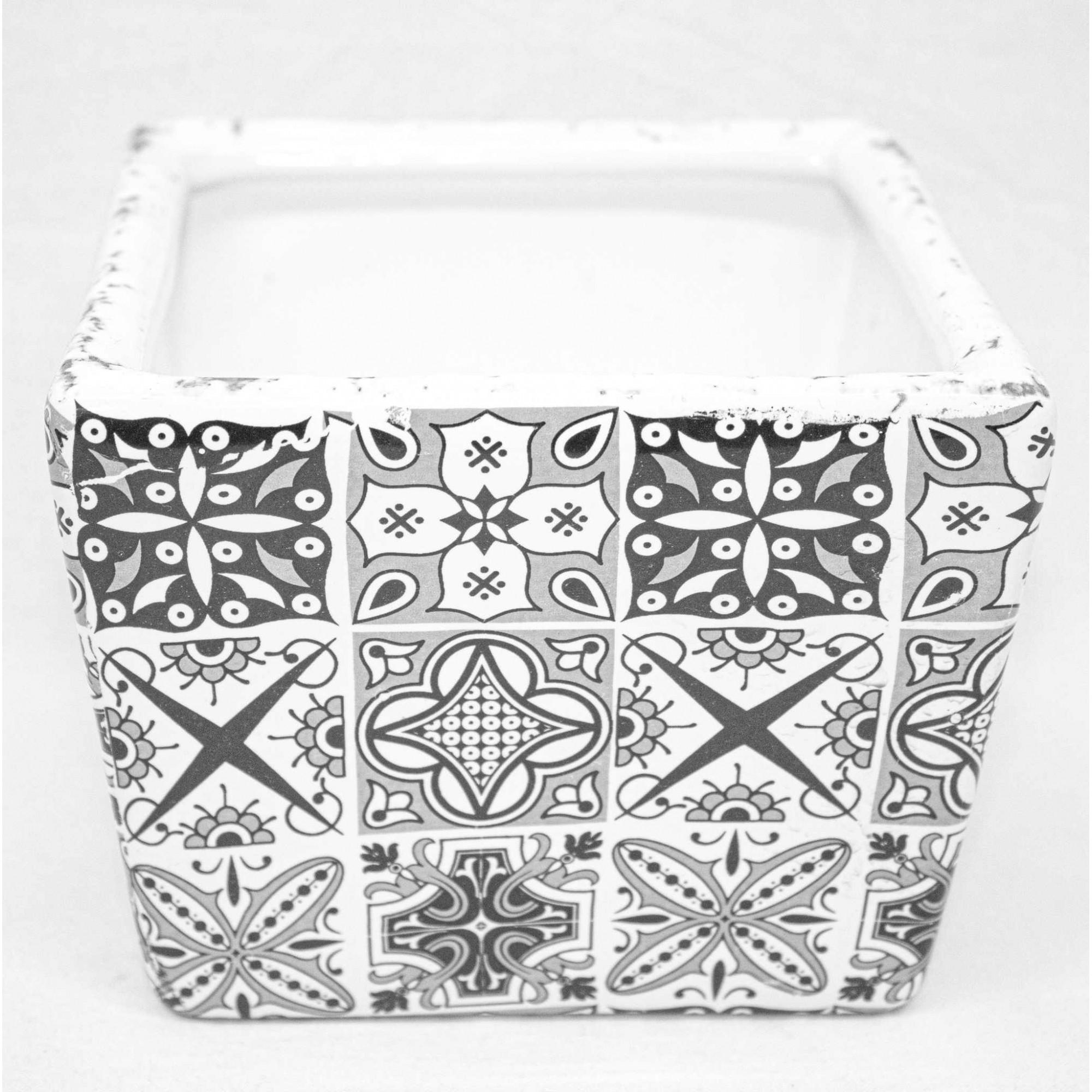 Mini Cachepô - Cerâmica
