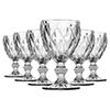 Jogo com 6 Taças Diamante - Vinho 210ml  - CLEAR