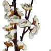 flor pessegueiro branco