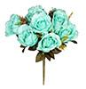 Buquê de rosa - X9 - 37cm - Verde claro