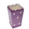 Mini Vaso cerâmica - 8cm - Roxo