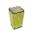 Mini Vaso cerâmica - 8cm - Verde