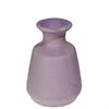 Vaso de cerâmica - 13,30cm Altura - Roxo