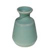 Vaso de cerâmica - 13,30cm Altura - Verde
