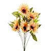 Buquê de Gerbera - X9 - 40cm Altura - Amarelo