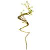 Cipo artificial - 116cm Altura - Amarelo Espiral