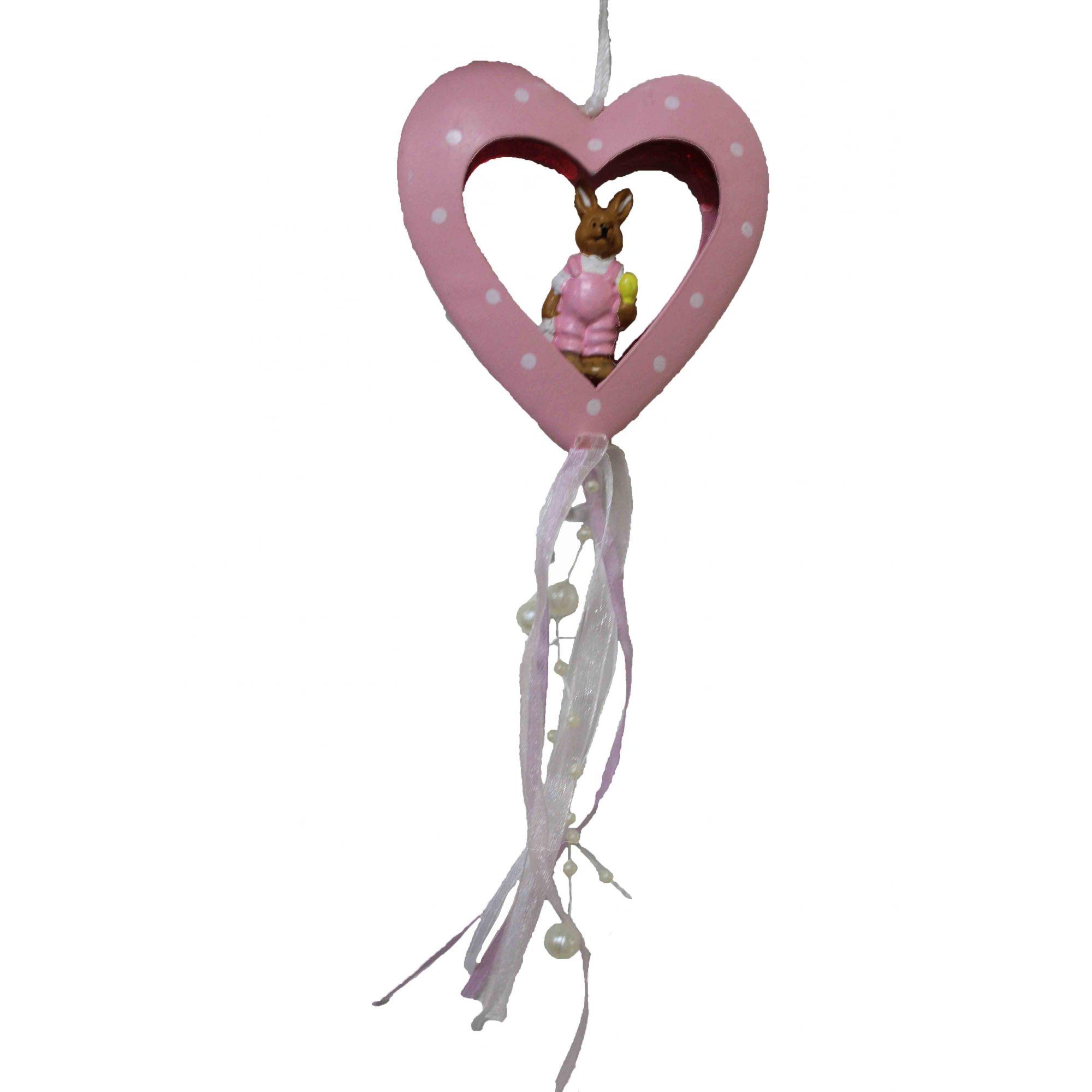 Coração Pendente Romance - 8Cm