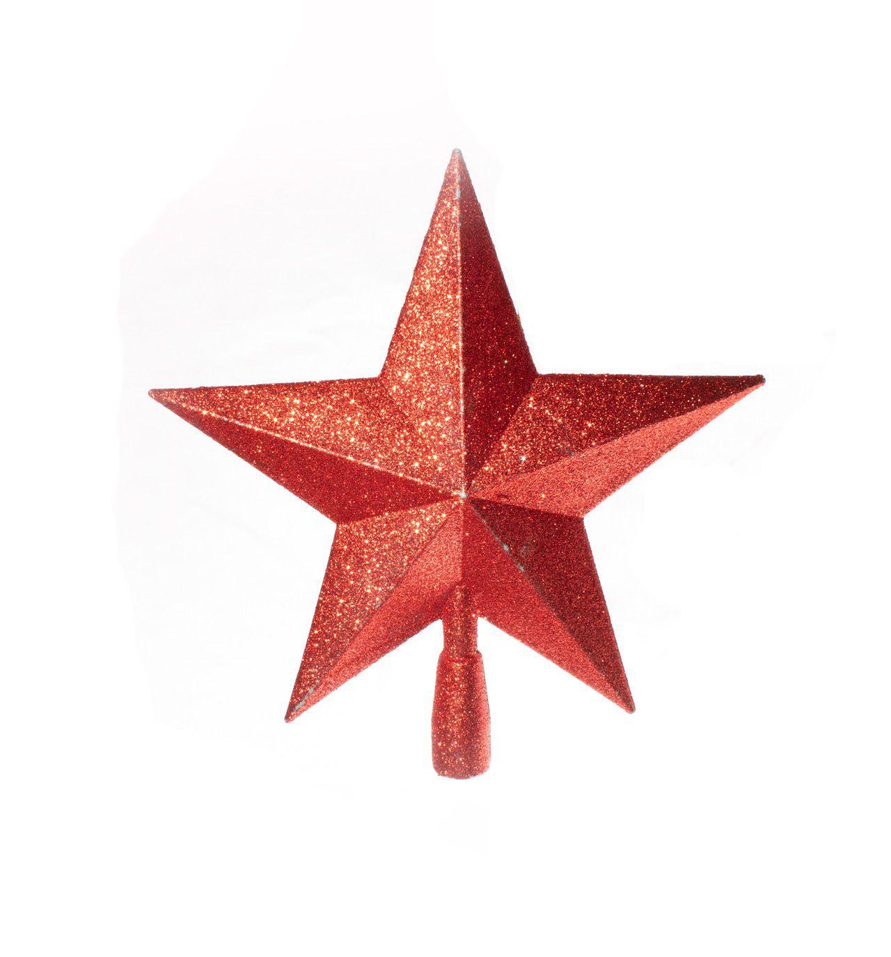 Ponteira De Árvore Estrela Reluzente  -  1 Un
