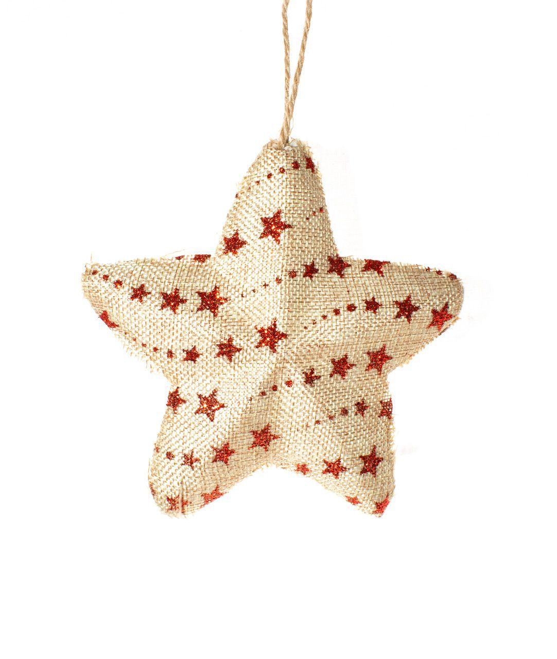Estrela Natalina Pendente