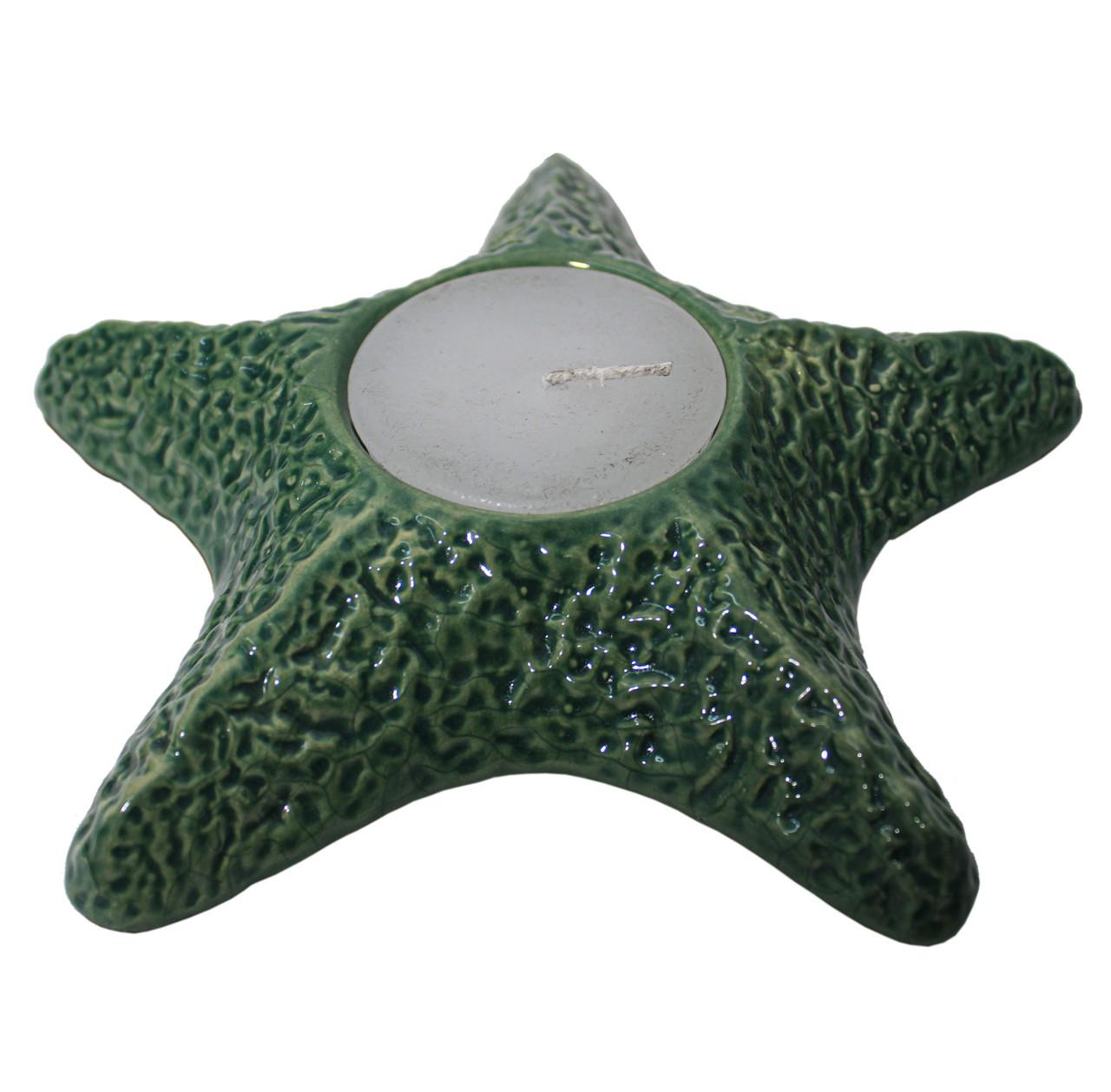 Estrela No Mar Verde Folha