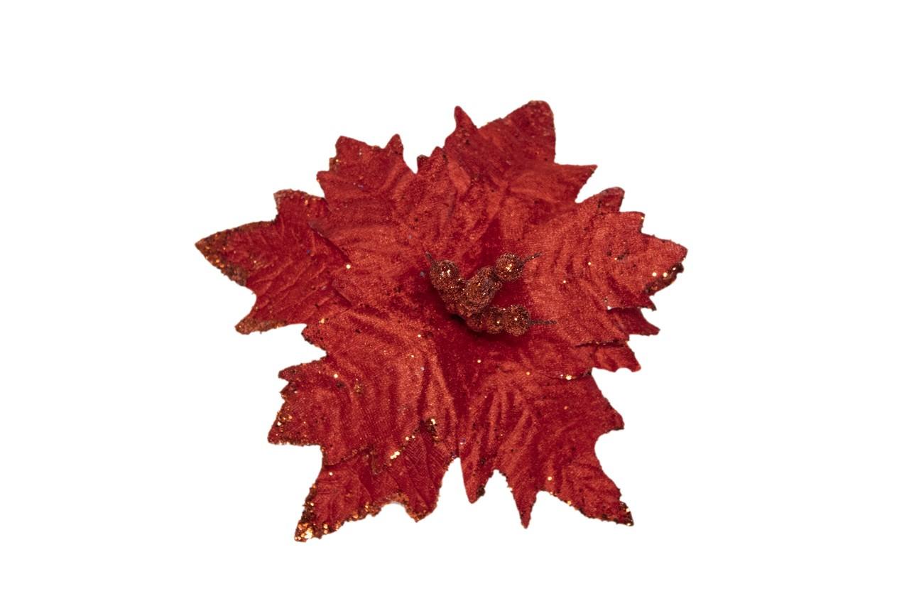 Flor Bico De Papagaio Vermelho - 28 Cm De Altura