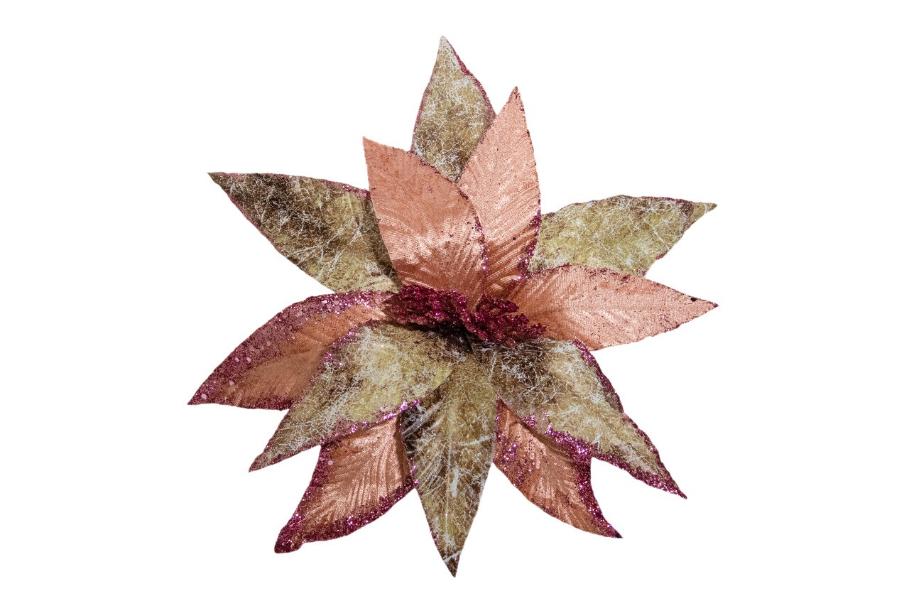 Flor Bico De Papagaio Rose - 30 Cm De Altura