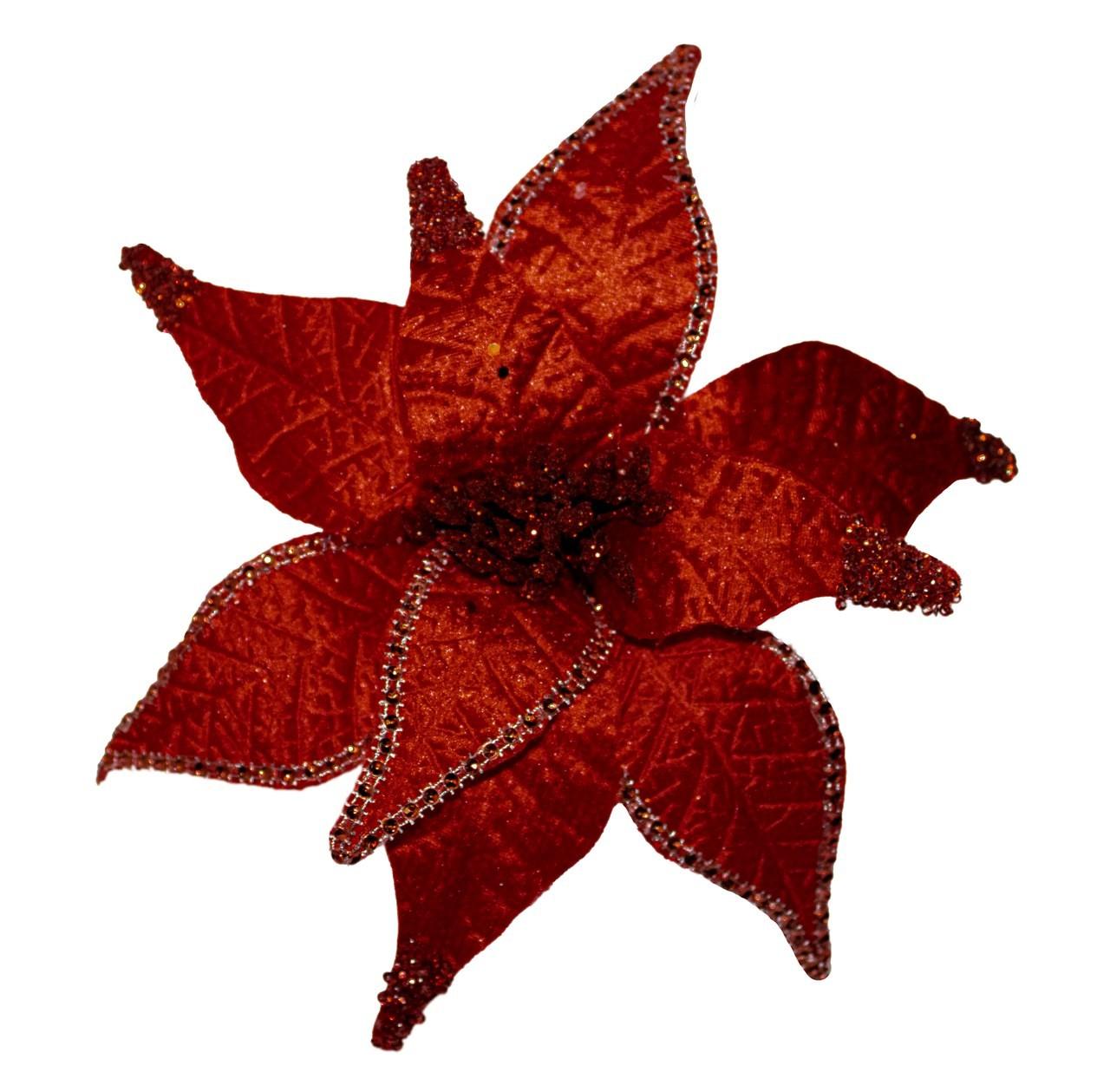 Flor Bico De Papagaio Vermelho - 56 Cm Altura