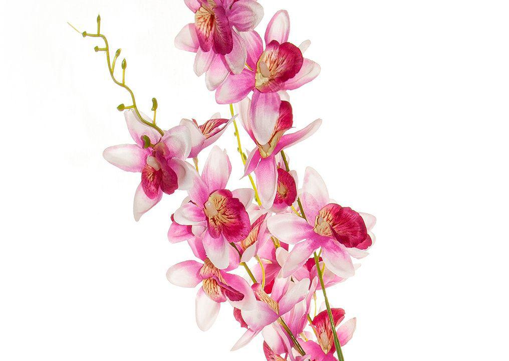 Flor de Orquídea - X18 -  100cm altura X 15cm Largura