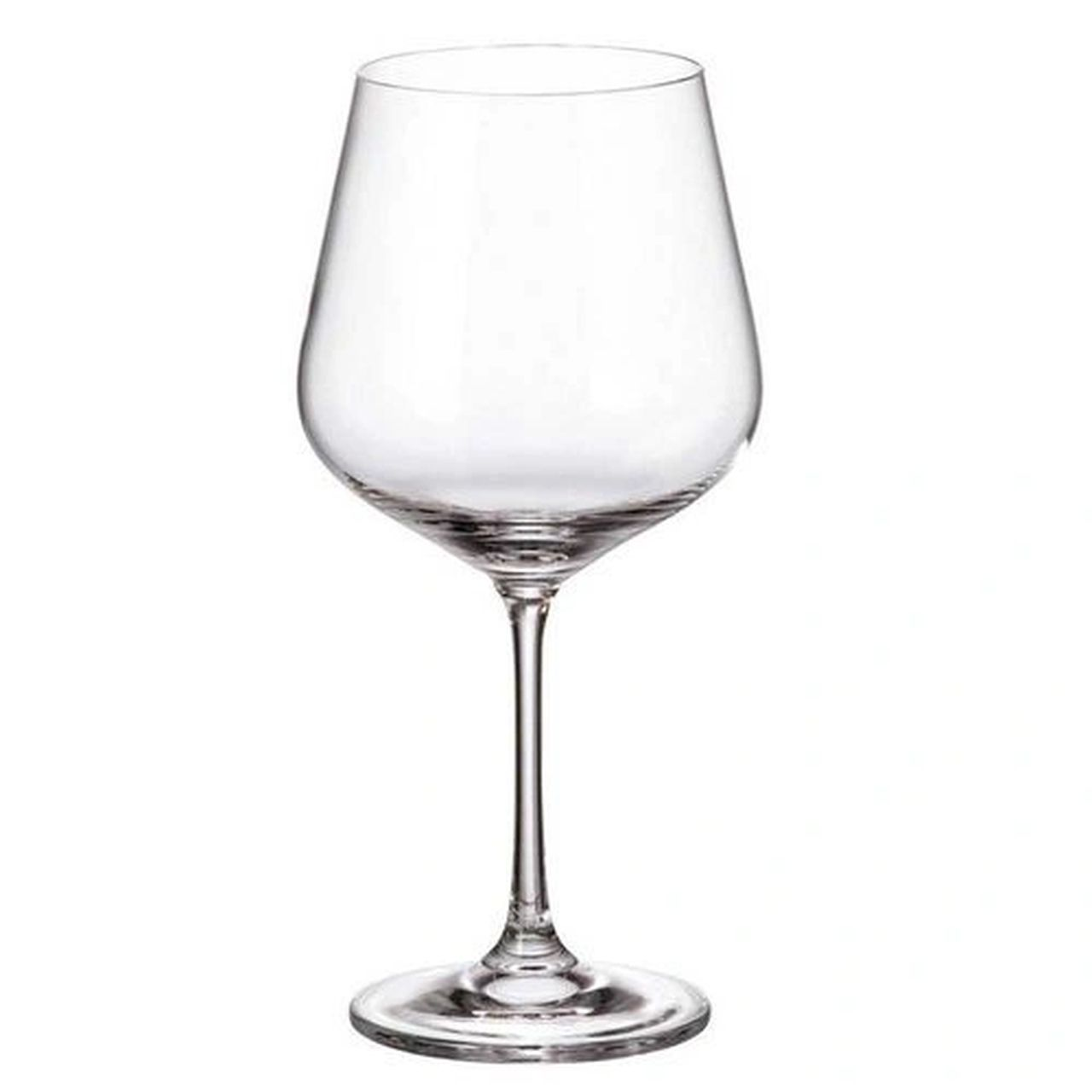 Jogo De 6 Taças Para Burgundy Strix Em Cristal Ecologico 600Ml A19,5Cm
