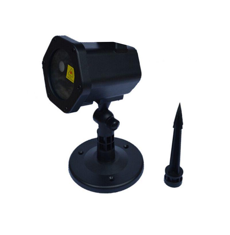 Mini Laser Outdoor Lighting Projetor Hologáfico - Com Mini Controle