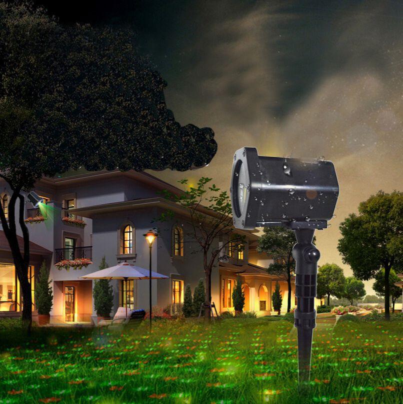 Mini Laser Outdoor Lighting Projetor Holográfico/ Com mini controle.