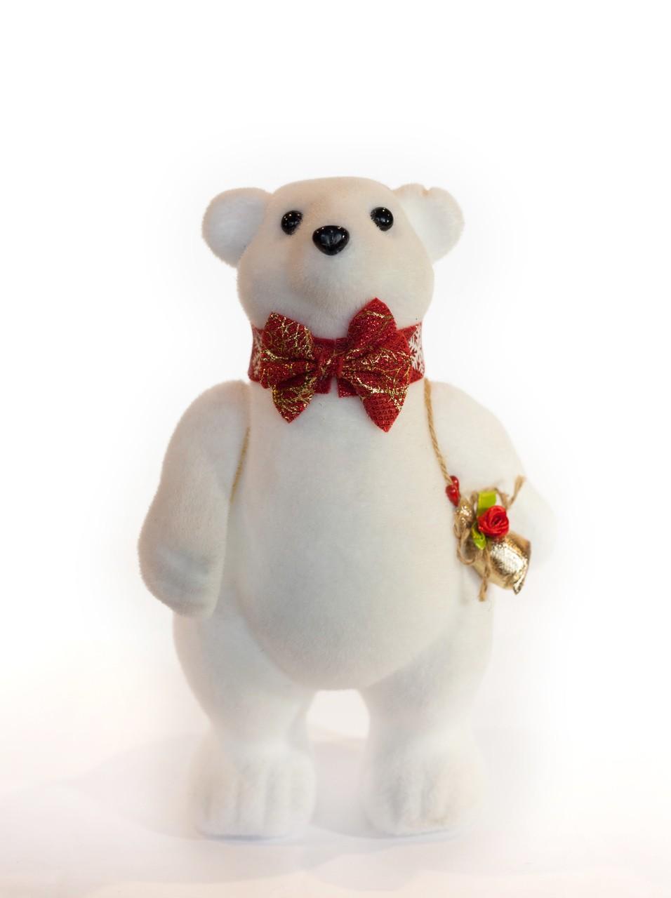 Mini Urso Natalino - 20 Cm