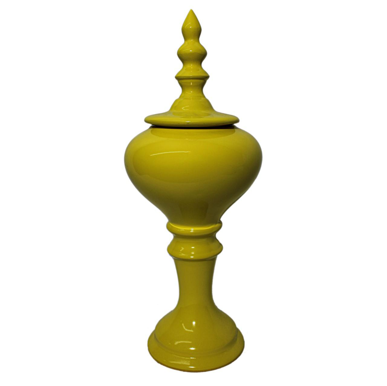 Pote Médio Amarelo Brilho