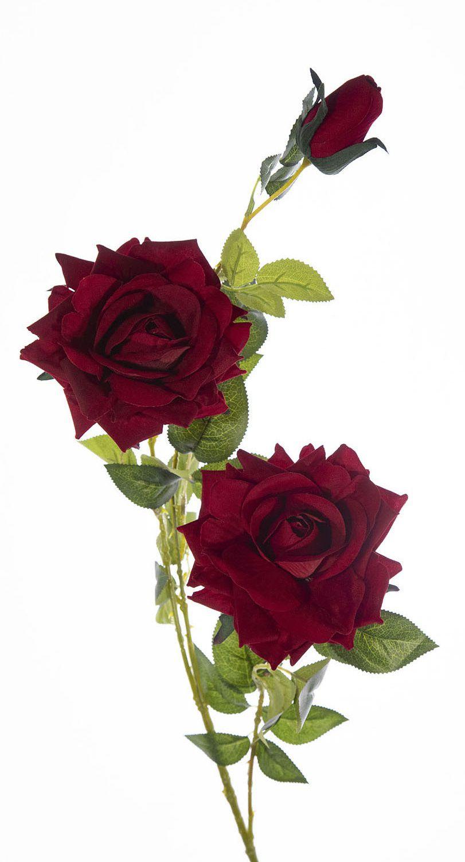ROSA COM 3 ROSAS - VERMELHO