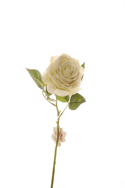 Rosa Unitaria 40Cm - Branca