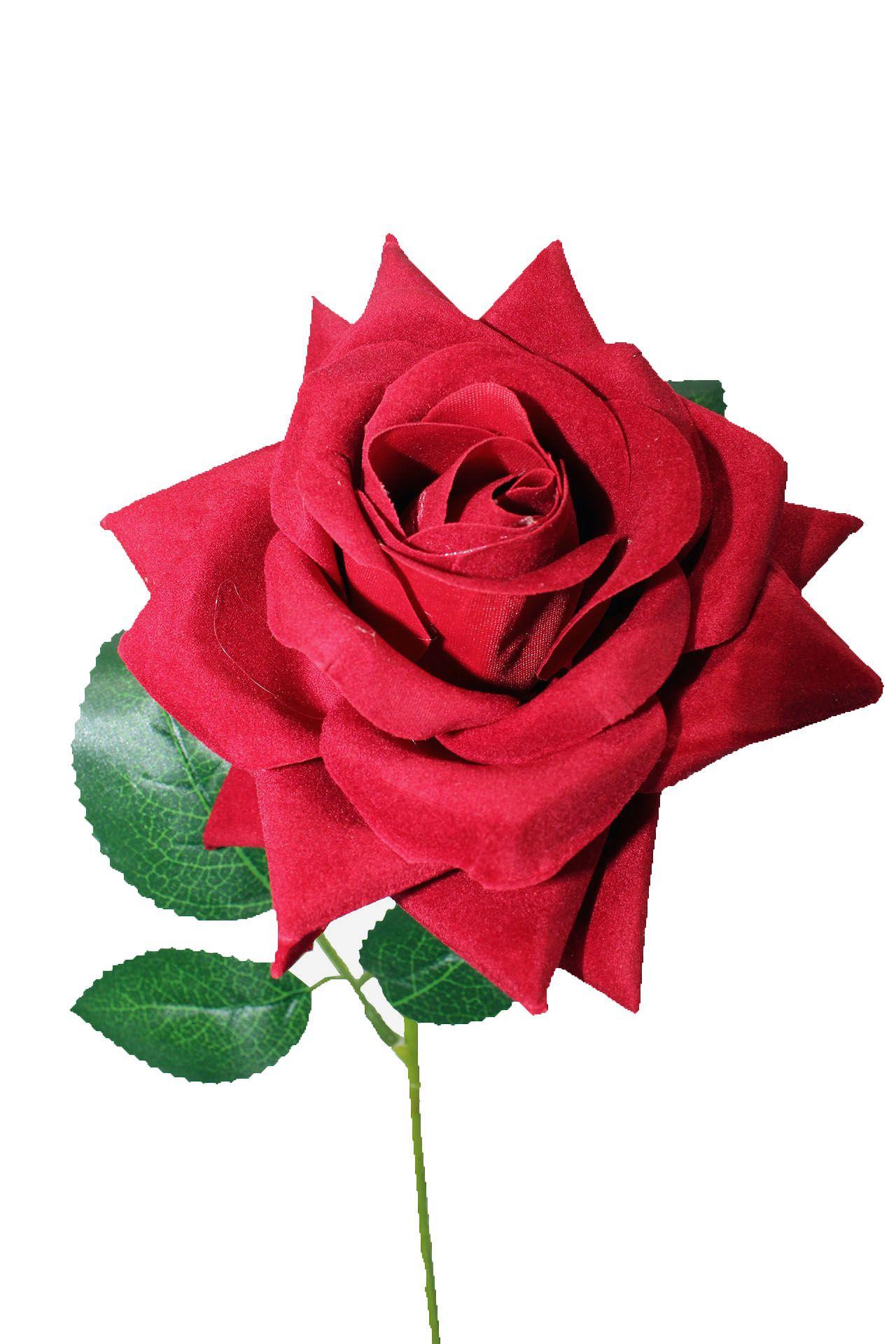 Rosa unitária aberta - 60 cm