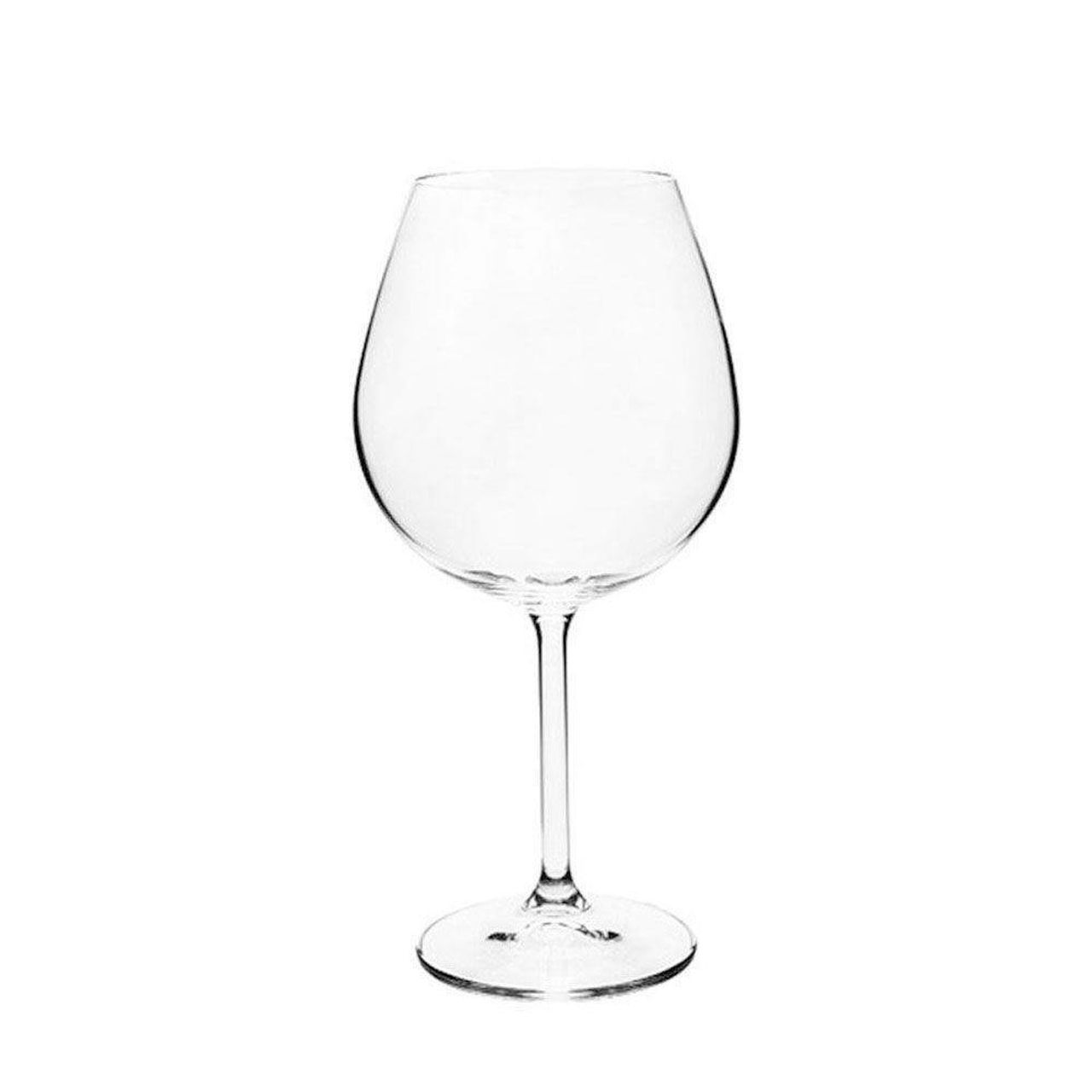 Jogo De Taças De Vinho Tinto Bordeaux Gastro - 650Ml A22Cm
