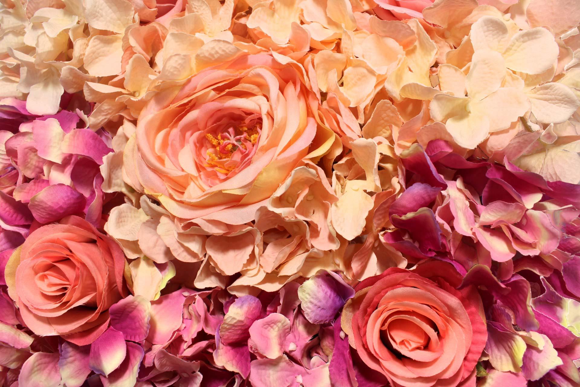 Tapete de flores - 25cm Largura X 25cm comprimento