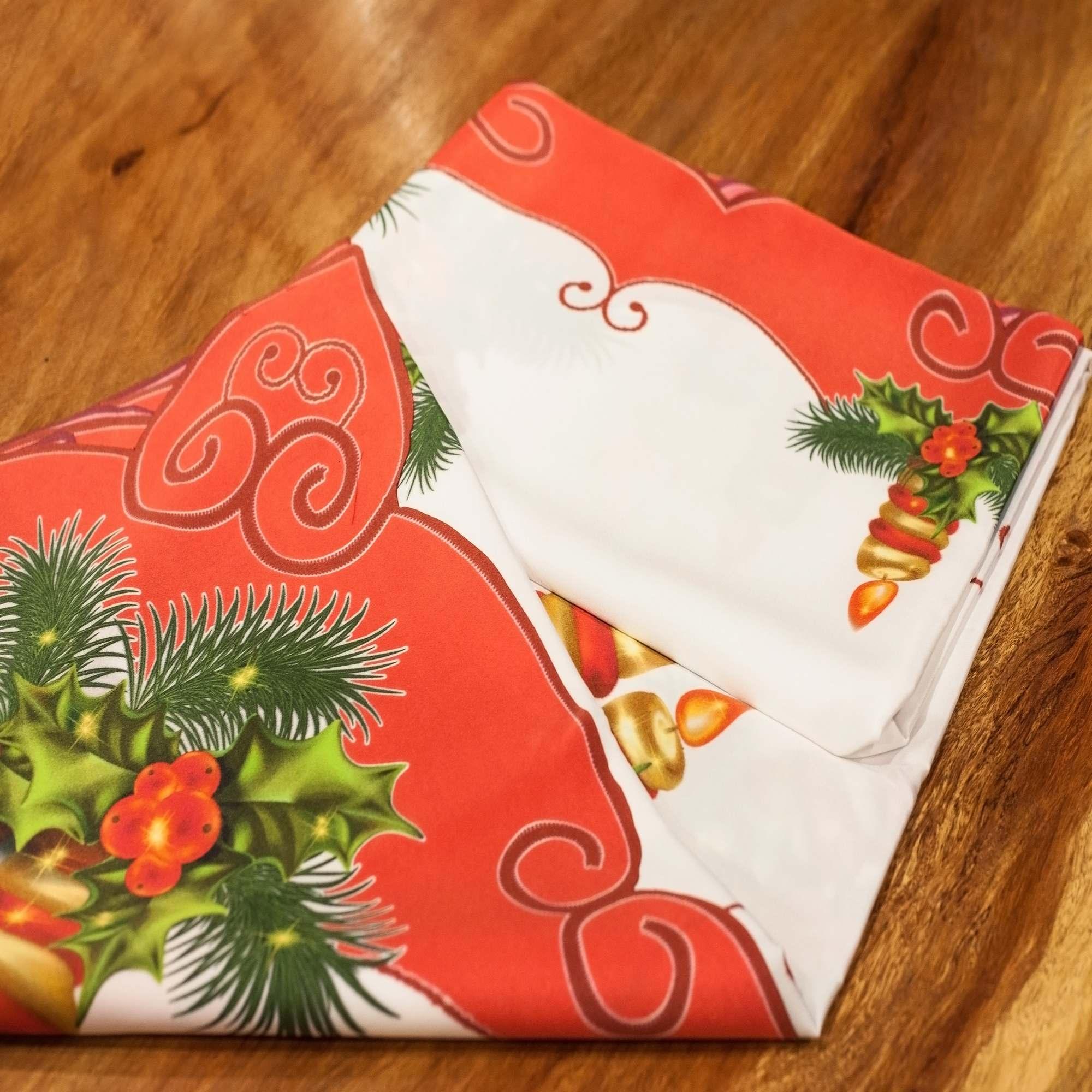Toalha De Mesa De Natal - 1 Unidade